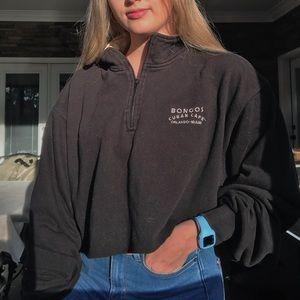 Miami Tourist Cropped Pullover